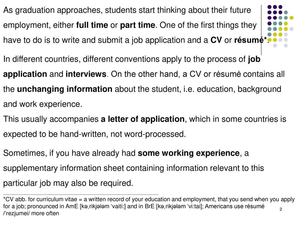1 how to write a cv how to write a cover letter ppt download