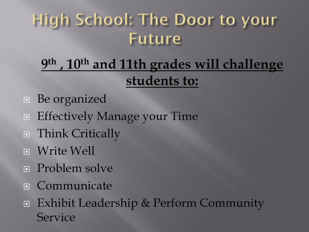 Welcome To Cornerstone Charter Academy High School Ppt Download