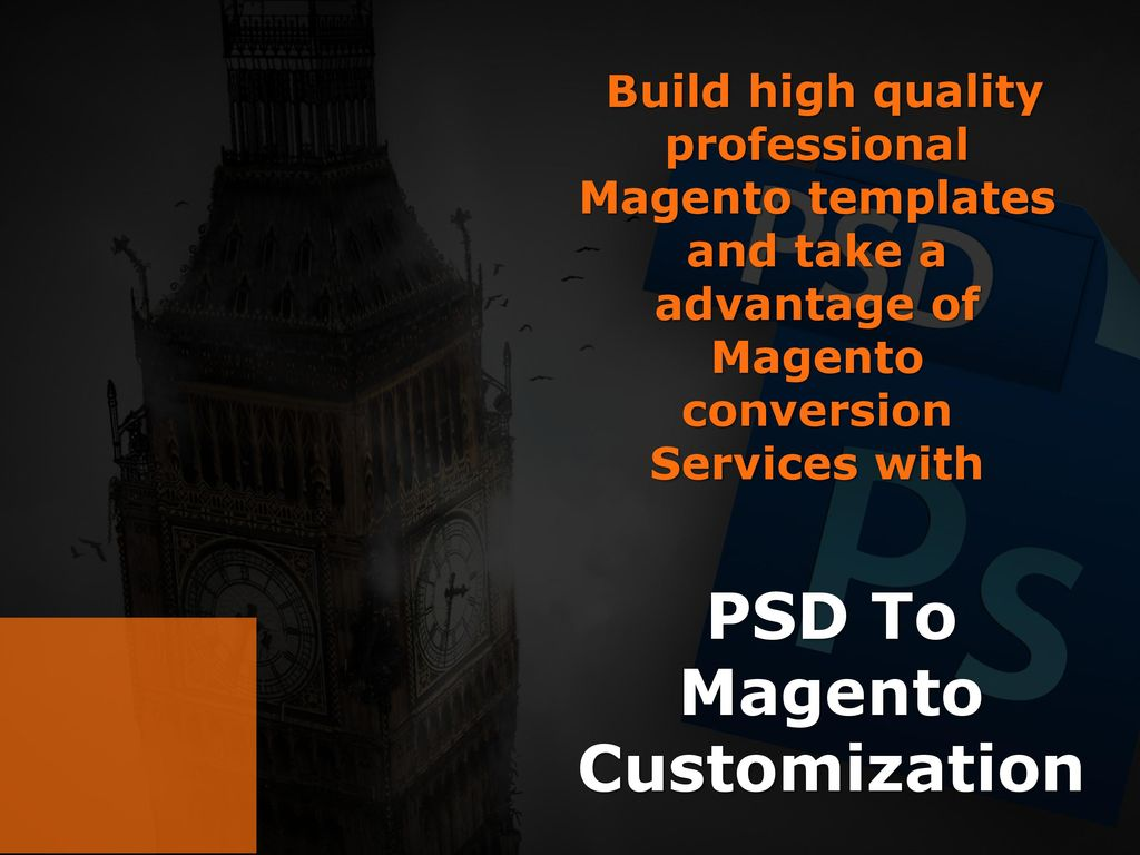 Magento Customization Services - ppt download