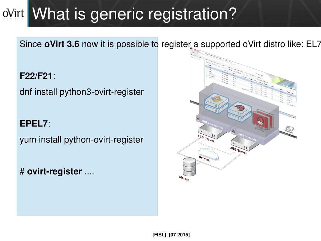 Generic registration Douglas Schilling Landgraf - ppt download