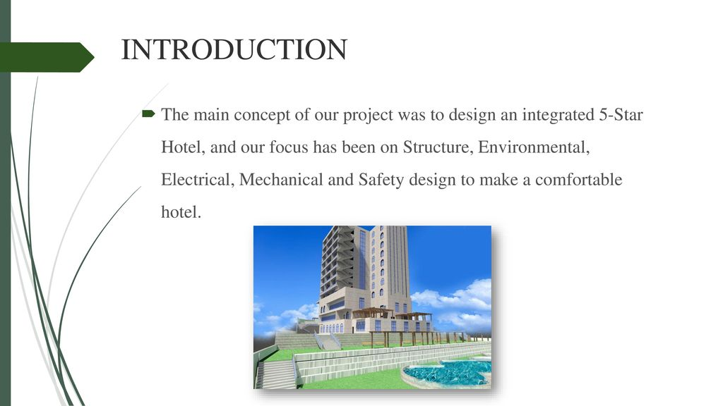 Design Of An Integrated 5 Star Hotel Ppt Download