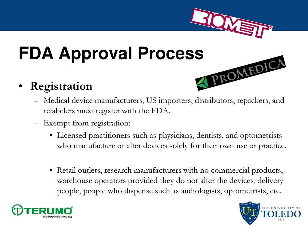 The Food and Drug Administration - ppt download