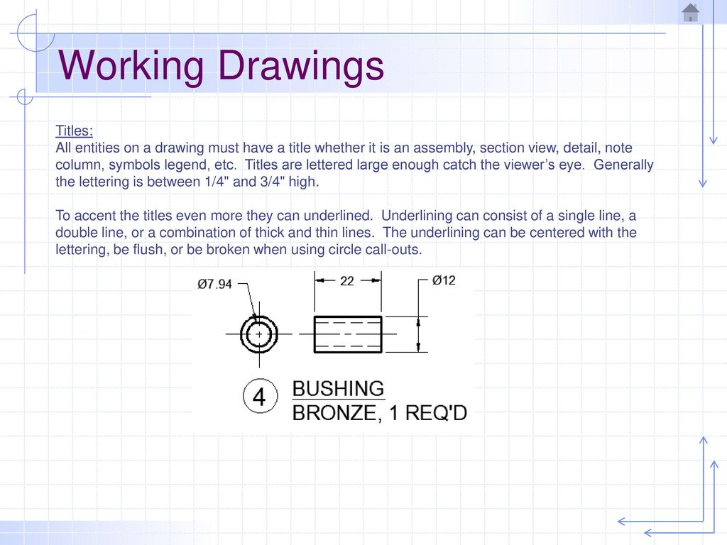 Design And Working Drawings Ppt Download