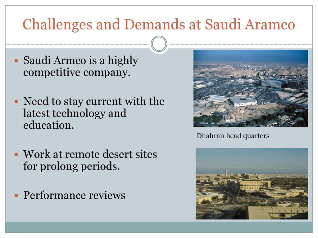 My career in Saudi Aramco - ppt download