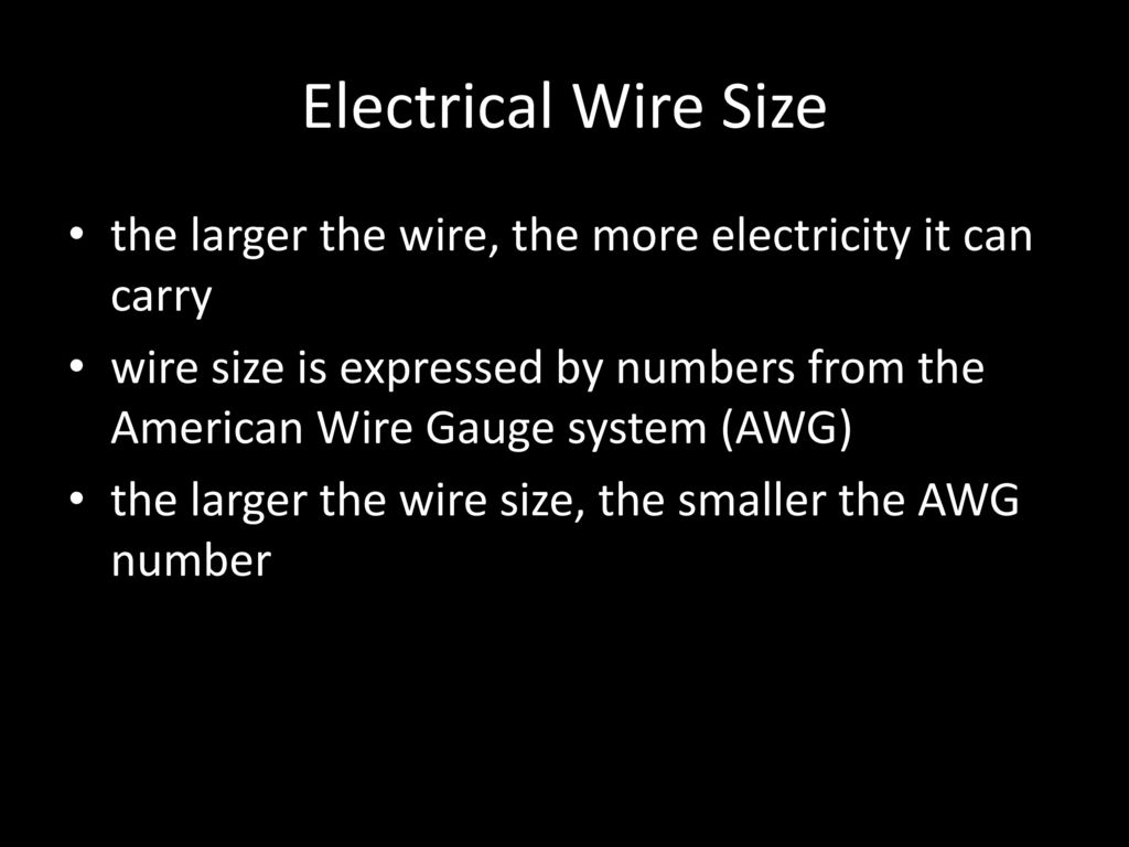 Electrical Conductors Ppt Download Wiring Size Copper Used In Many Applications Reasonable Cost Flexible