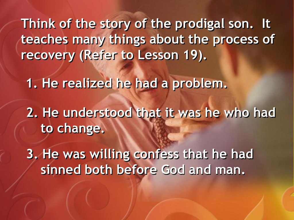 moral lesson of the prodigal son