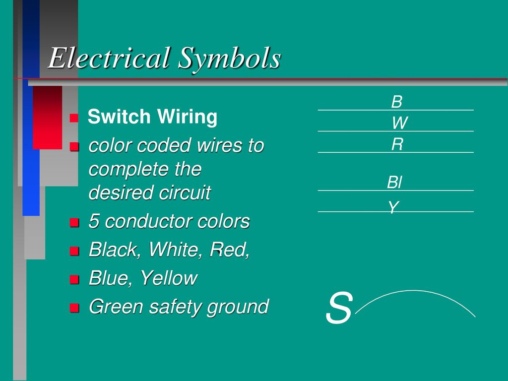 Electricity Symbols Ppt Download Home Wiring Red Black White S Electrical Switch