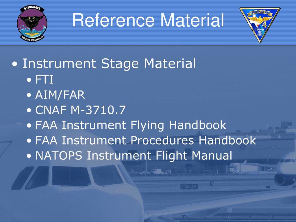 Instrument Intro Briefs