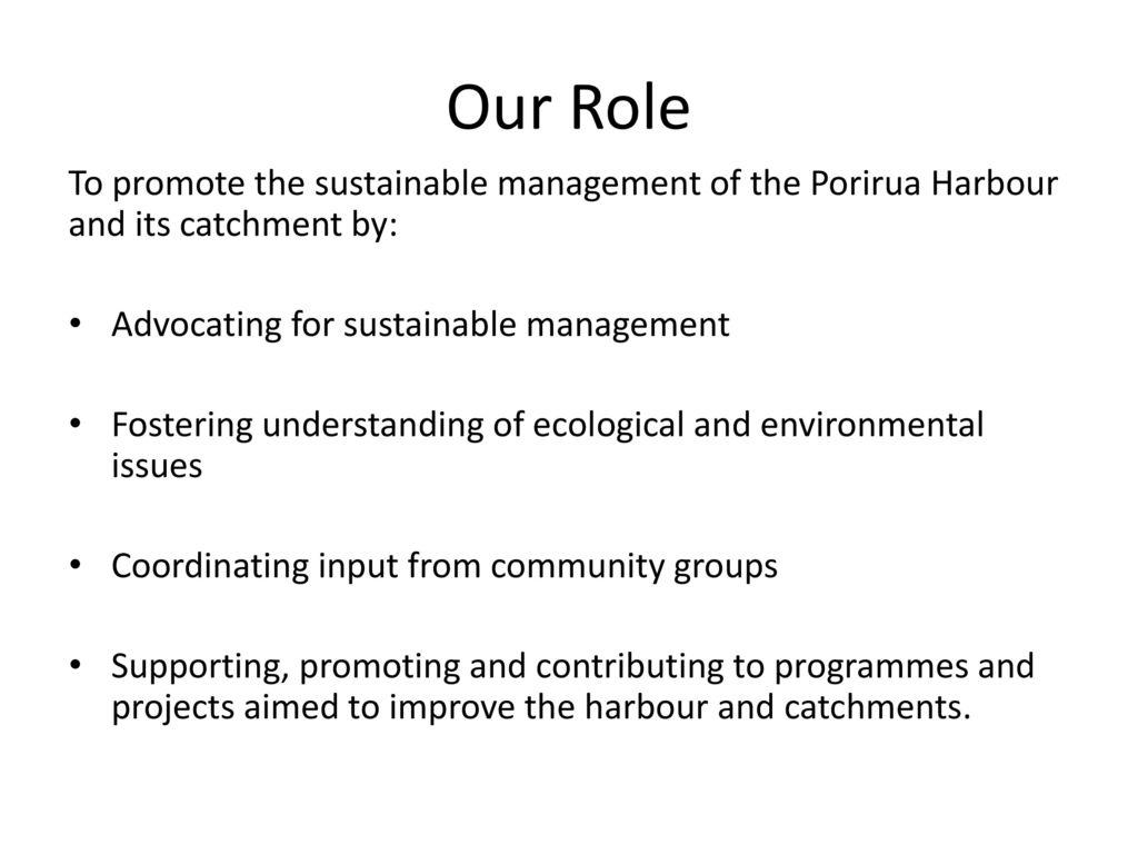 Porirua Harbour Trust  - ppt download