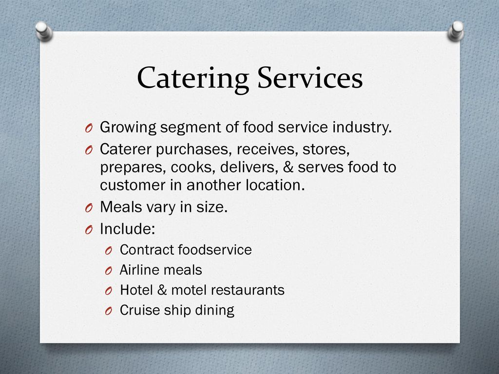 The Dining Experience. - ppt download
