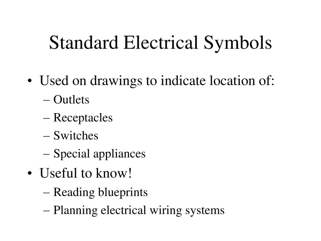 Electrical Diagrams Ppt Download Standard Wiring Diagram Symbols