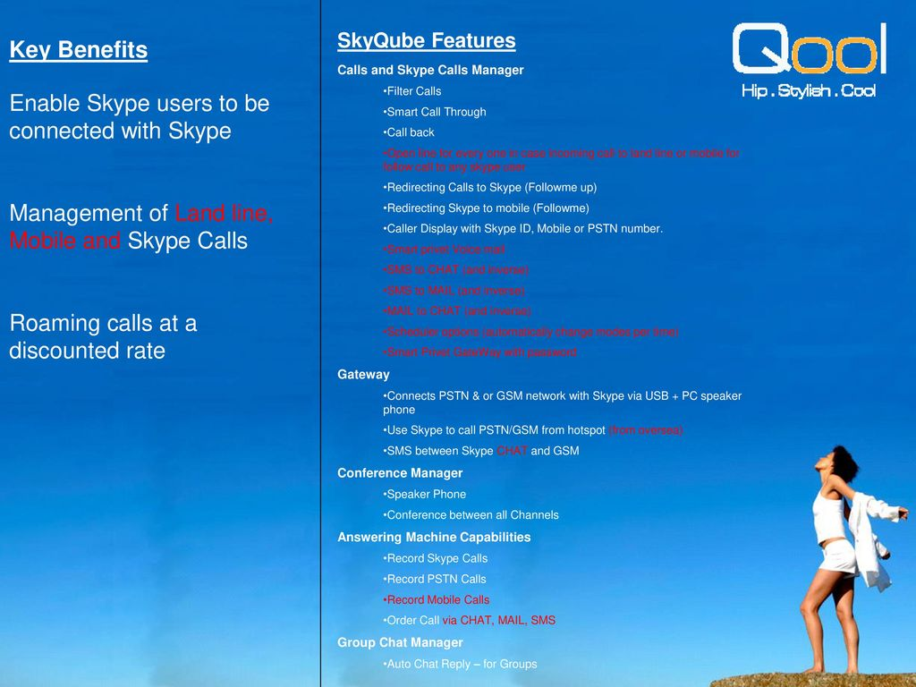 World's First GSM VoIP Adapter (for Skype) - ppt download