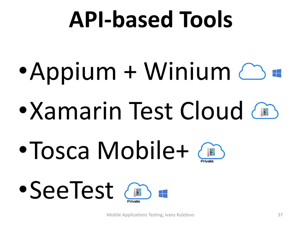 Mobile Applications Testing - ppt download