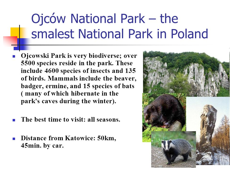 Ojców National Park – the smalest National Park in Poland