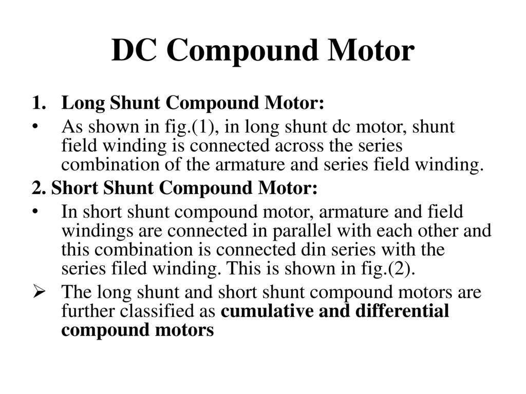 DC MOTOR. - ppt download