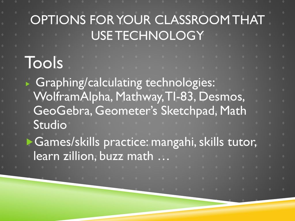 Personalize Math Instruction through Technology - ppt download on