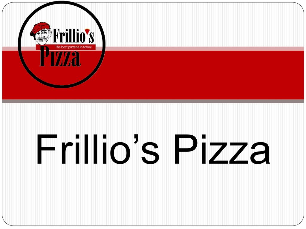 Frillio's Pizza