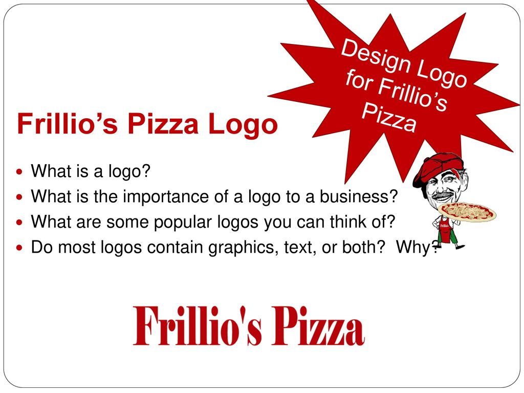 Design Logo for Frillio's Pizza