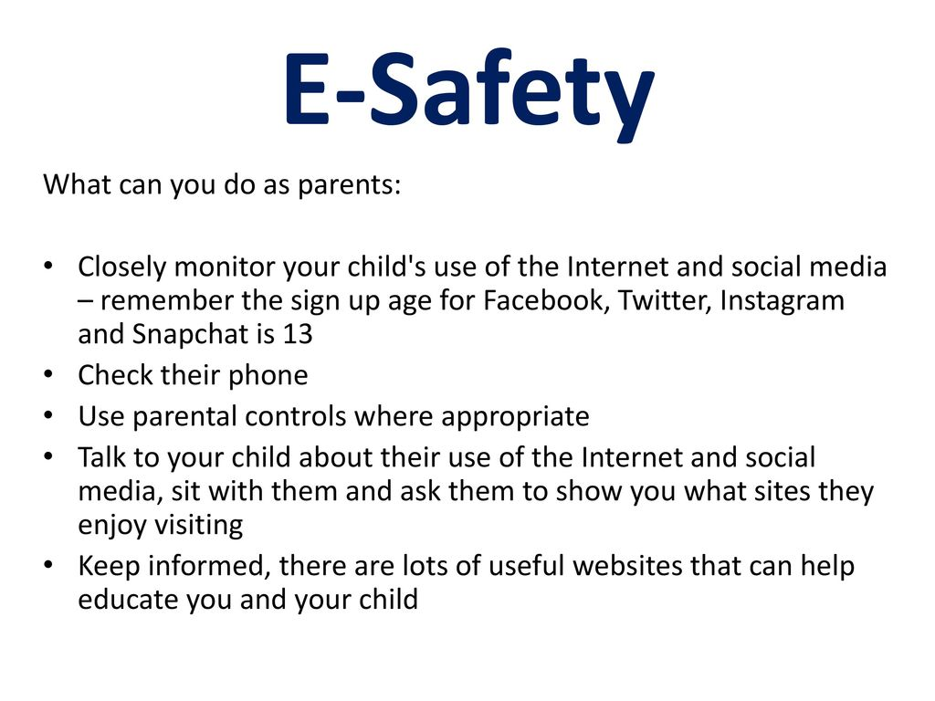 E-Safety What are the dangers: Seeing disturbing information
