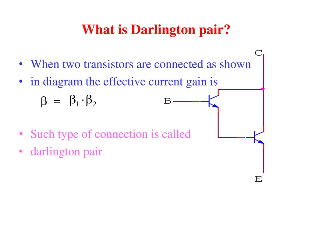Draw Input And Output Characteristic Of A Transistor In Cb Mode Basic Electricity Electronics Darlington Pairs What Is Pair 15 Digital Logic Gate