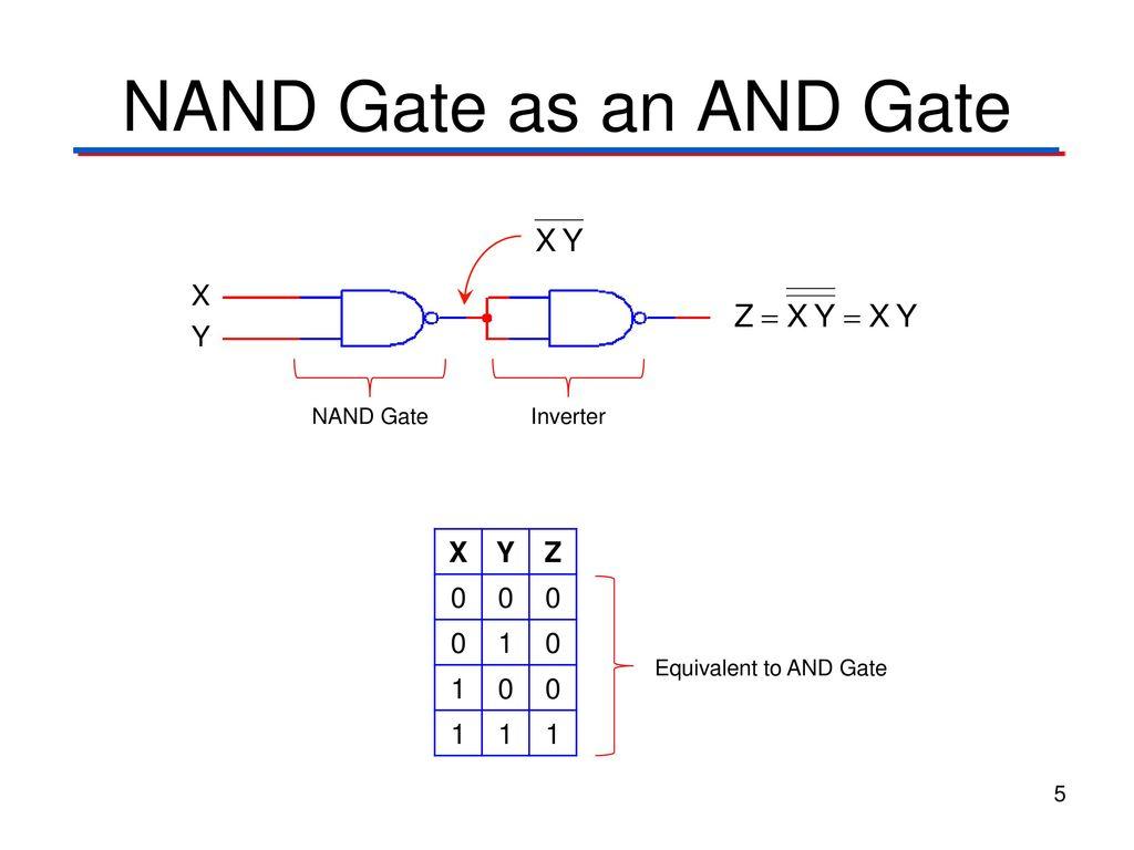 Universal Gate Nand Digital Electronics Circuit Diagram 5
