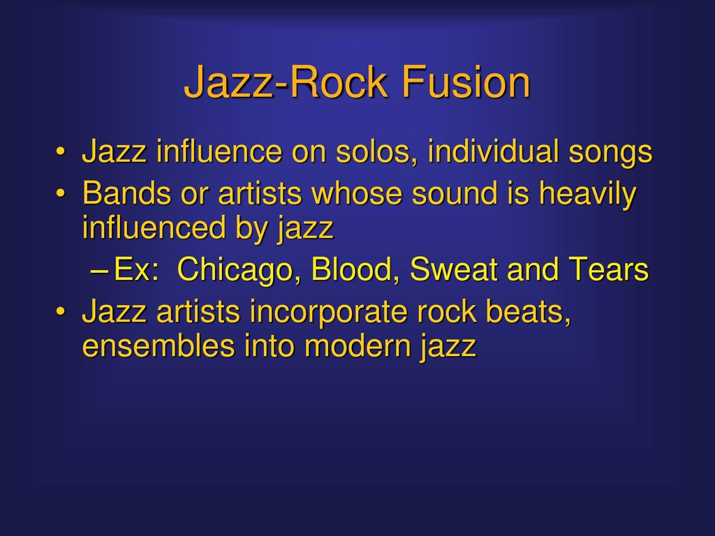 Fusions: Rock and the World  - ppt download
