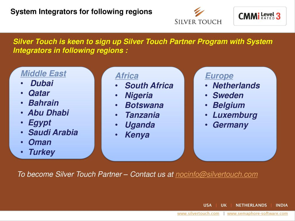 Introduction to Silver Touch Network Operation Center - ppt