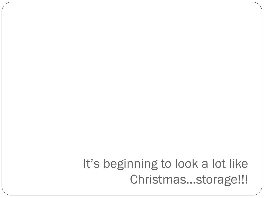It\'s beginning to look a lot like Christmas… - ppt download
