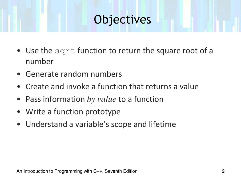 Chapter 9: Value-Returning Functions - ppt download
