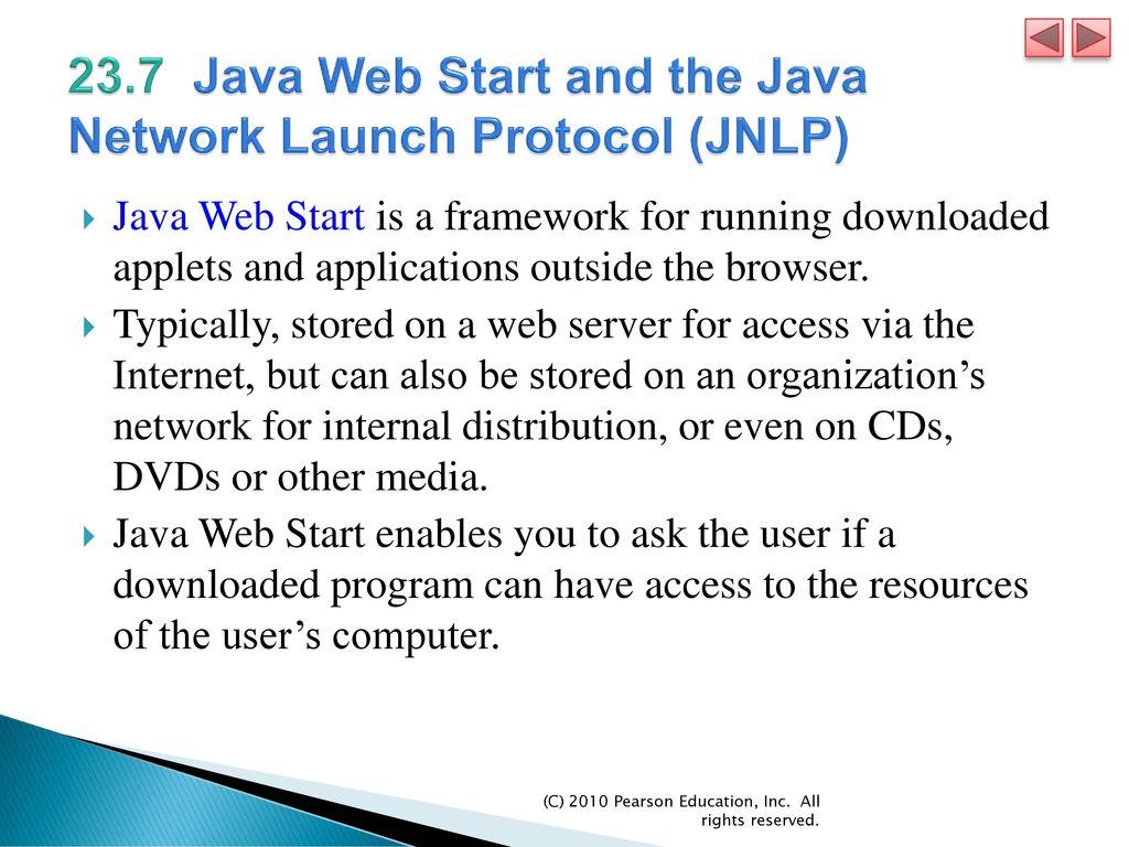 Chapter 23 Applets and Java Web Start - ppt download