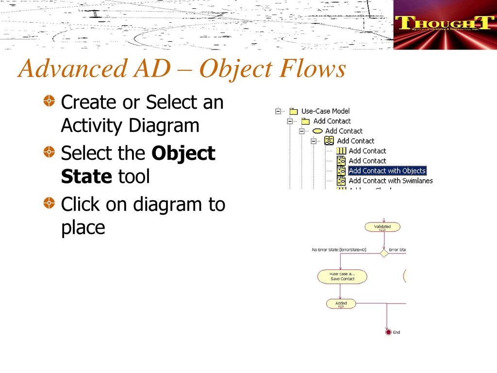 Identifying creating use cases part 2 ppt download advanced ad object flows ccuart Image collections