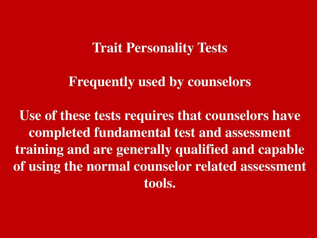 objective personality tests are frequently used in hiring practices Although i focus on the use of personality tests in the hiring process, such tests are also being increasingly used in the workplace on existing employees, for example, to balance teams and to improve cooperation and communication among co-workers.