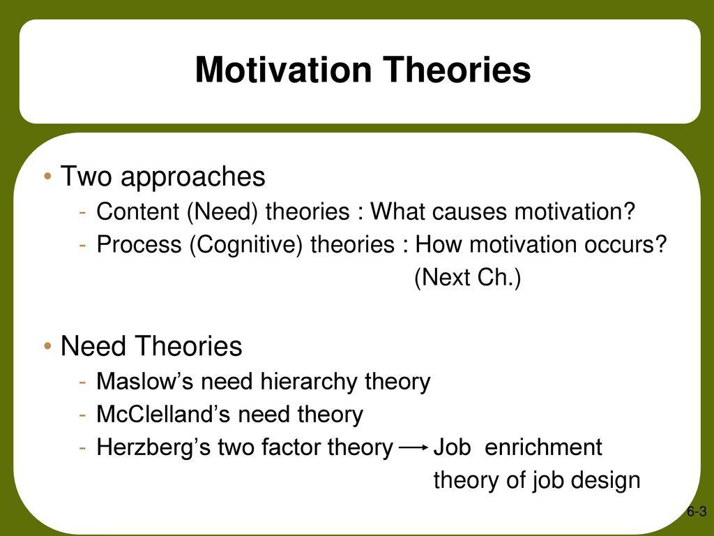 job enrichment theory