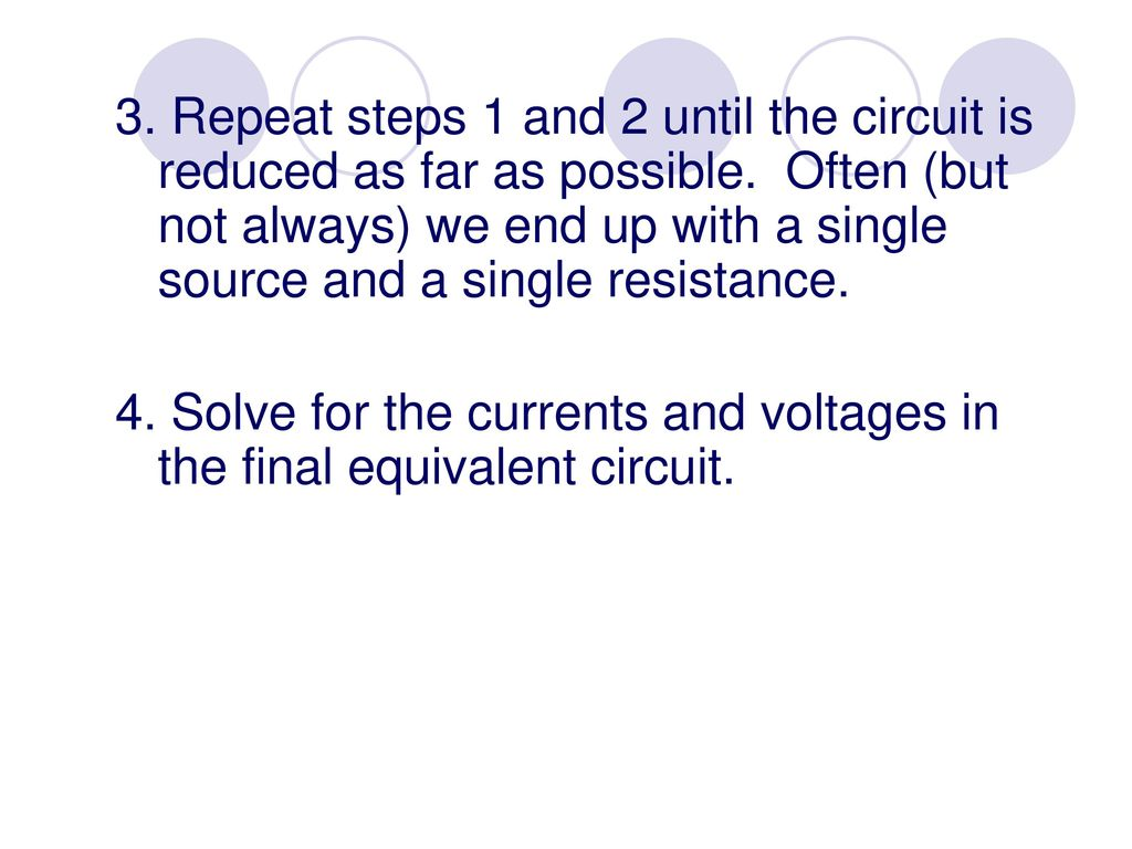 Chapter 1 Introduction Ppt Download Resistance Rl Find Thevenin Equivalent Circuit For The Following Repeat Steps And 2 Until Is Reduced As Far Possible