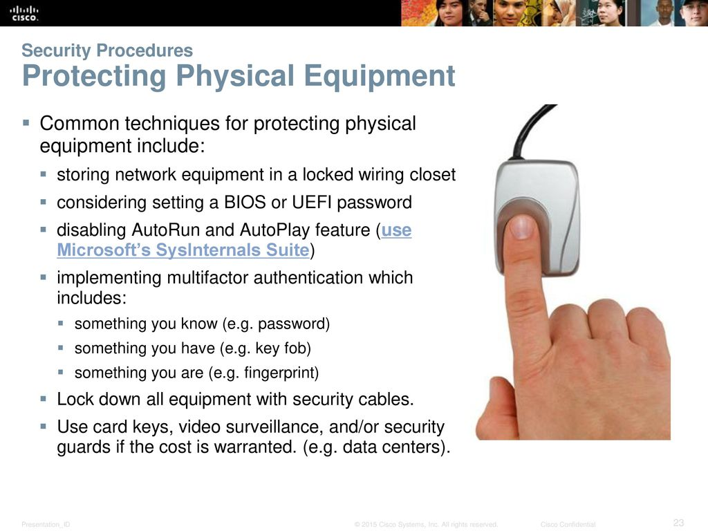 Chapter 12 Security It Essentials V Ppt Download Wiring Closet Equipment Procedures Protecting Physical