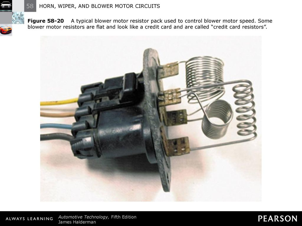 Horn Wiper And Blower Motor Circuits Ppt Download Automatic Windshield Washer Control 23 Figure