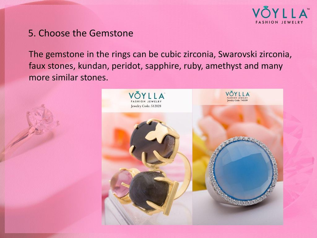 Wear a Ring like a Fashionista - ppt download