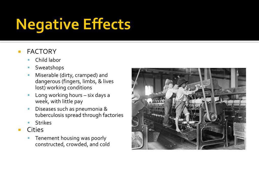 sweatshops negative effects