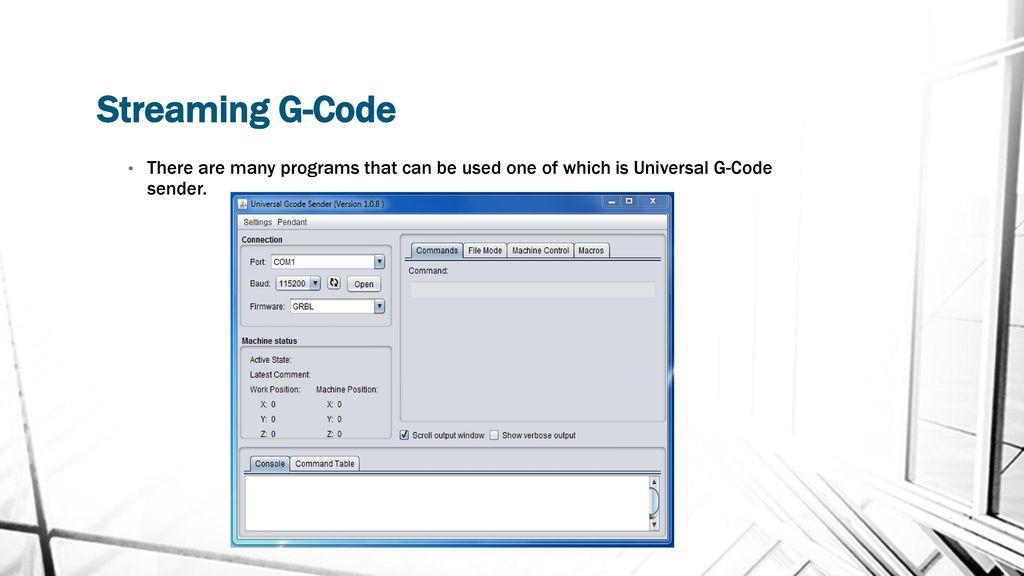 Best Gcode Sender