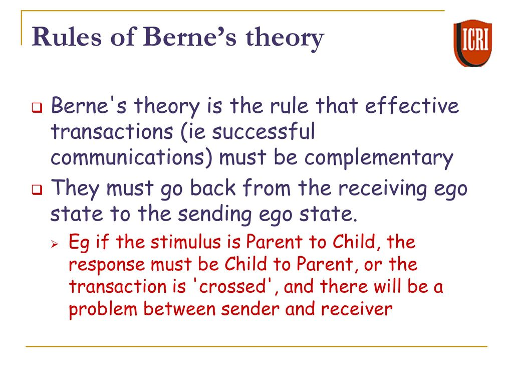ego state theory