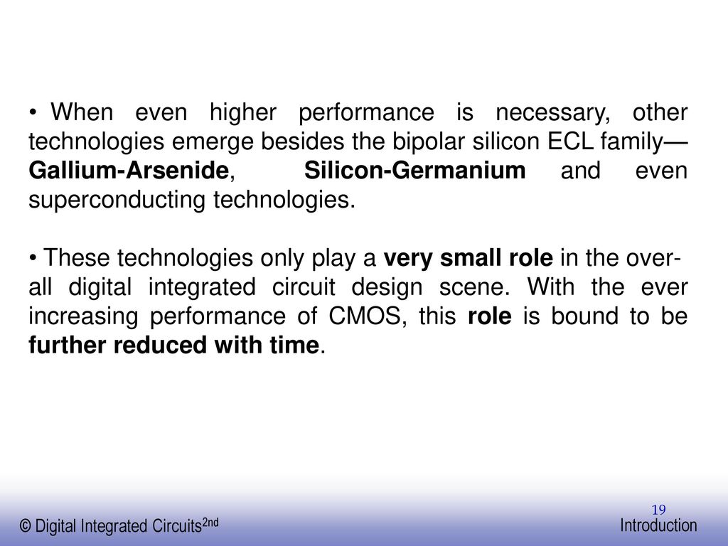 Digital Integrated Circuits A Design Perspective Ppt Download Circuit 19 When