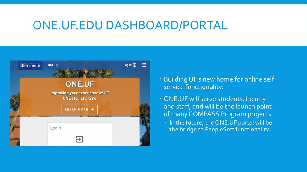 ONE UF Schedule of Courses ONE UF Registration - ppt download