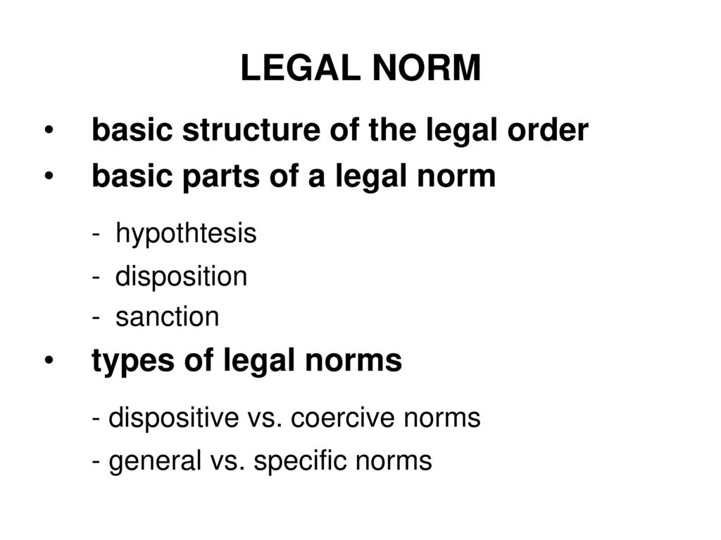 Types of dispositions in criminal law: examples. Concept and types of dispositions and sanctions