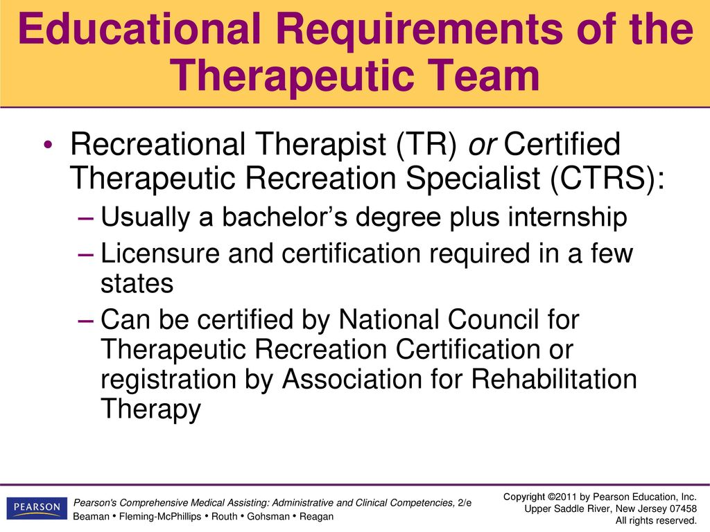Recreational Therapist Certification Gallery Free Certificates For All