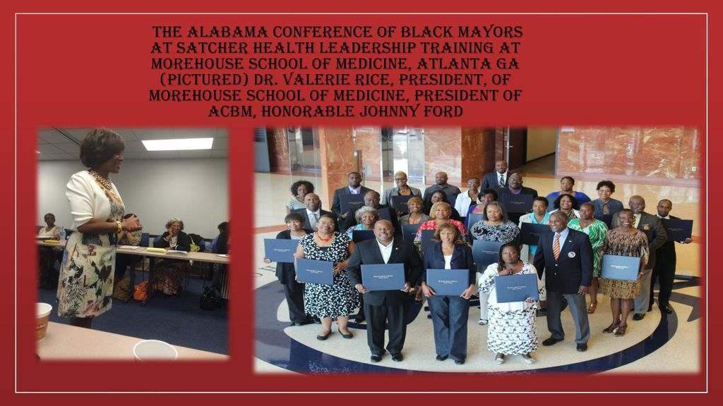 The Alabama Conference of Black Mayors (ACBM) is an