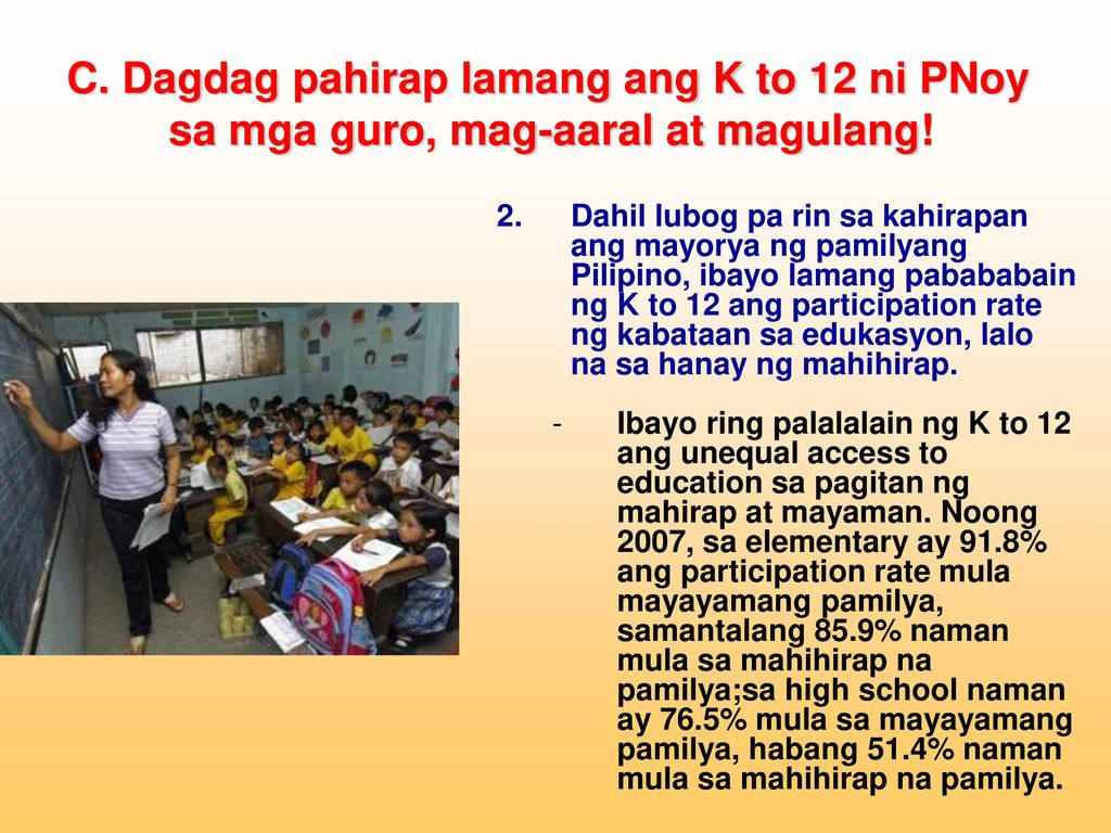 Kritik at Panawagan ng Alliance of Concerned Teachers (ACT