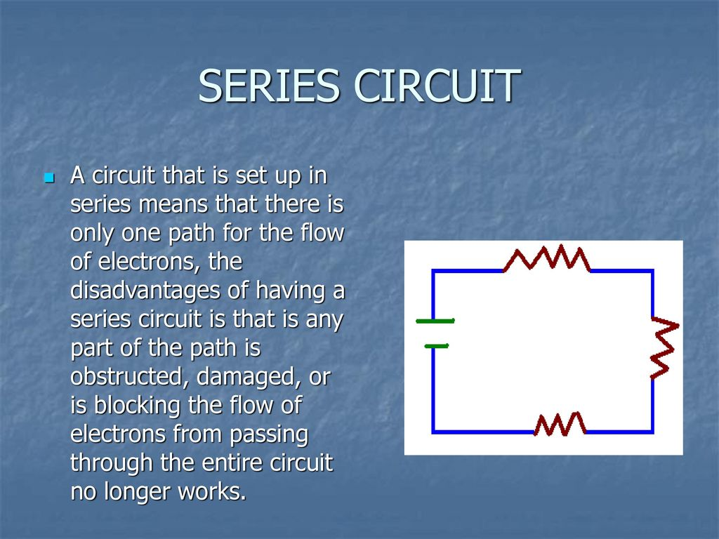 Circuits Ppt Download Circuit Is Path That Allows Electricity To Flow Through Series
