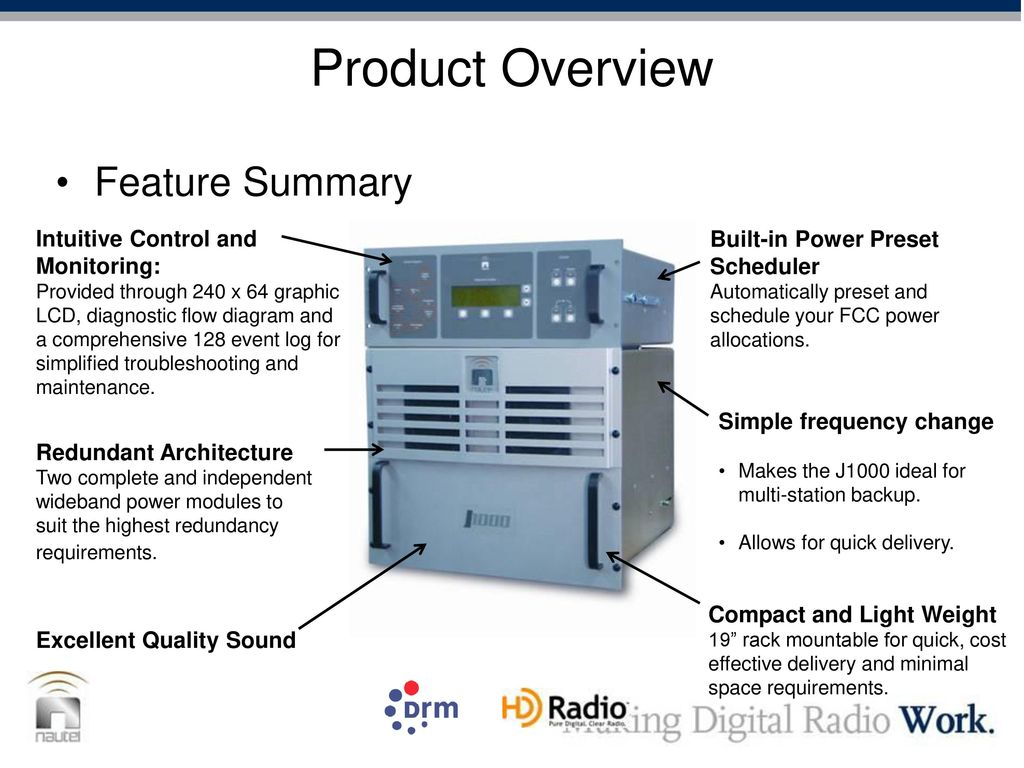 Outline Transmitter Design Overview Operation and Servicing DCC ...