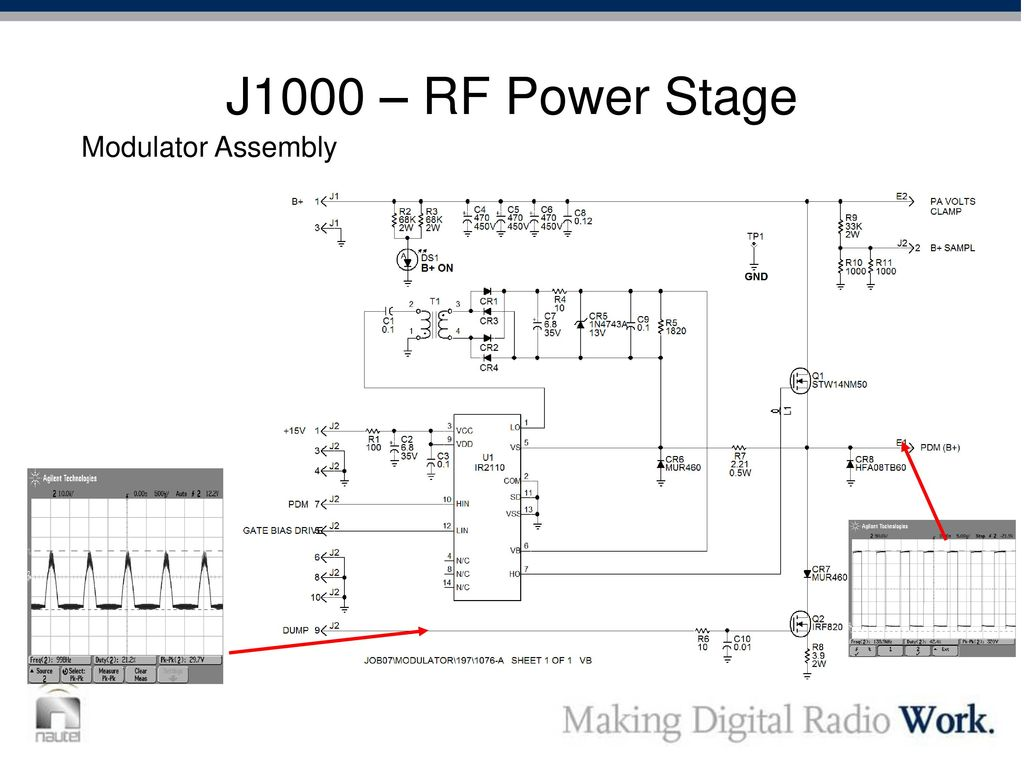 Outline Transmitter Design Overview Operation And Servicing Dcc Rf Buffer Stage 39 J1000 Power Modulator Assembly