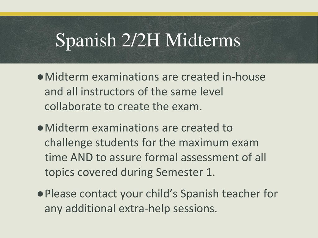 Agenda Welcome & Introductions What is a Midterm? - ppt download